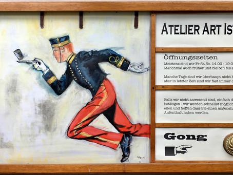 Galerie in der historischen Saftfabrik Lendelhaus in Werder/Havel