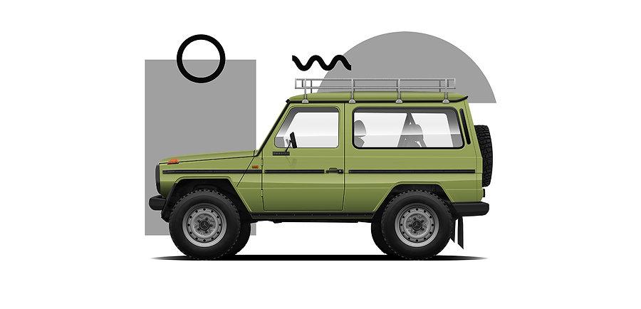 Agave Green G Wagon
