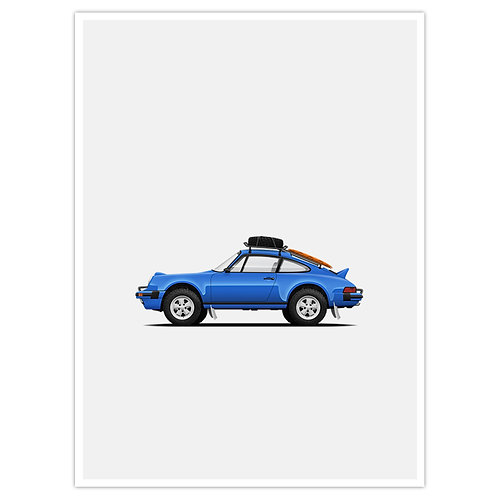 930 Safari - Blue