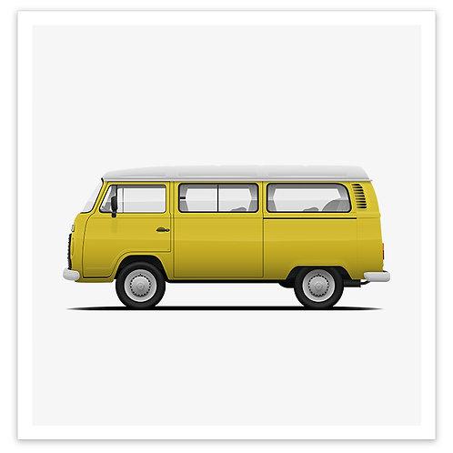 Kombi - Yellow