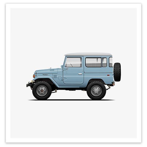 FJ40 - Light Blue