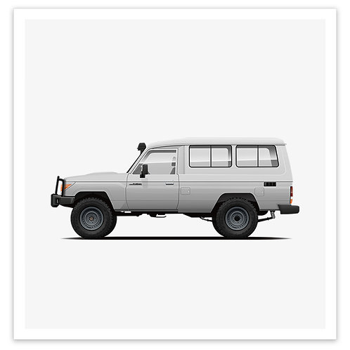 Troopy - White