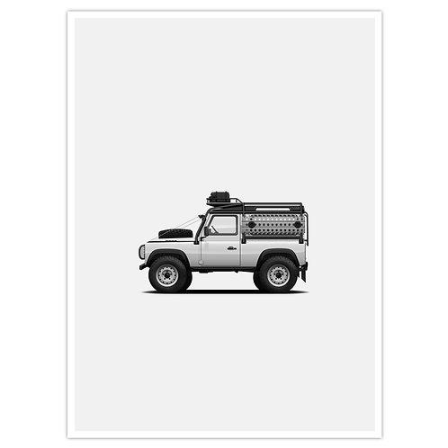 D90 Overland - White