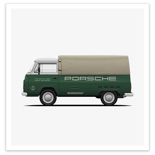 Kombi - Porsche Green