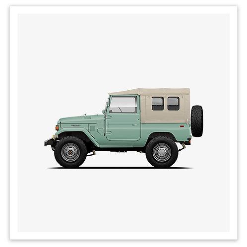 FJ40 Soft Top - Mint
