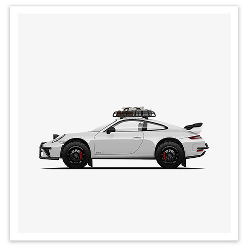 GT3 Rally - White