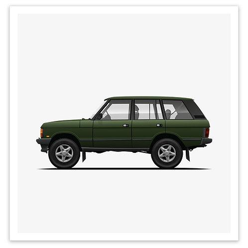 Range Rover - Green