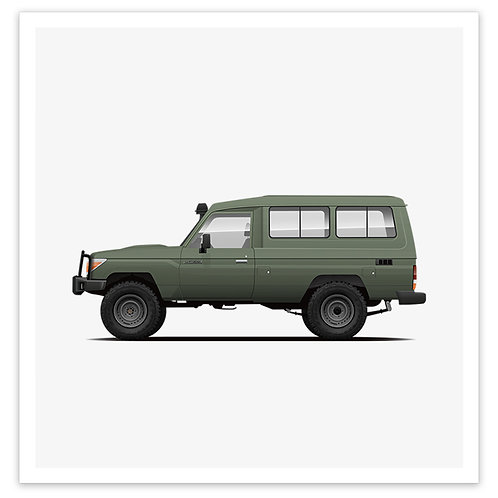 Troopy - Olive