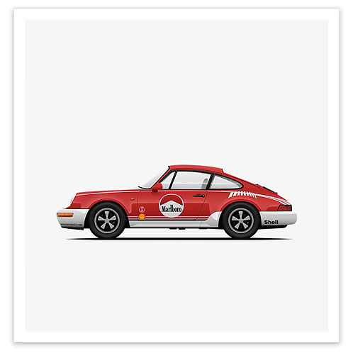 964 Marlboro Red