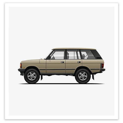 Range Rover - Gold