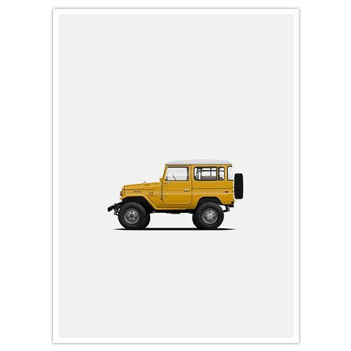 FJ40 - Yellow