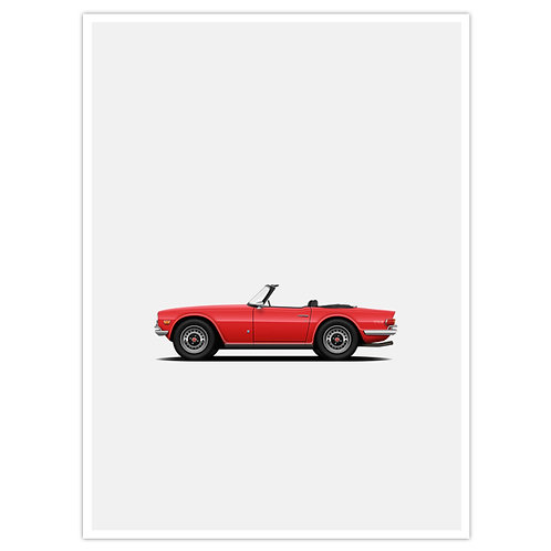 TR6 - Red