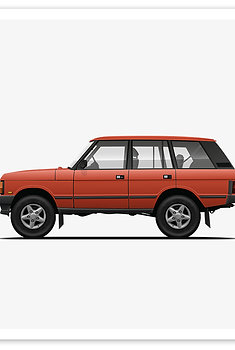 Range Rover - Red Orange