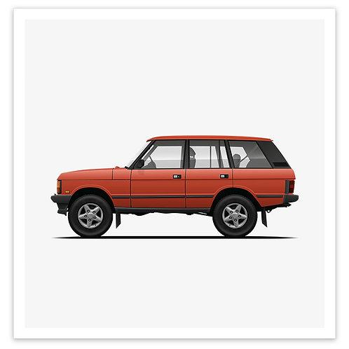 Range Rover - Red Orange