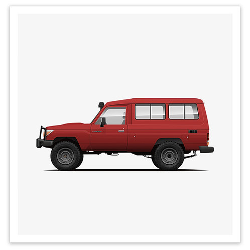 Troopy - Red