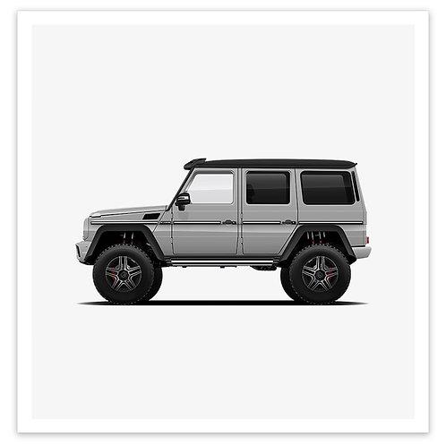 4x4 Squared - Silver