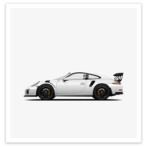 GT3RS - White