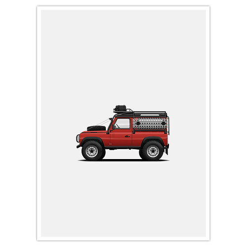 D90 Overland - Red