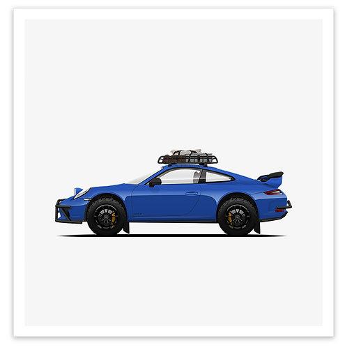 GT3 Rally - Blue