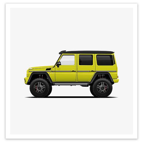 4x4 Squared - Yellow