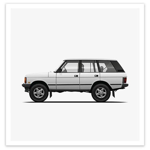 Range Rover - White