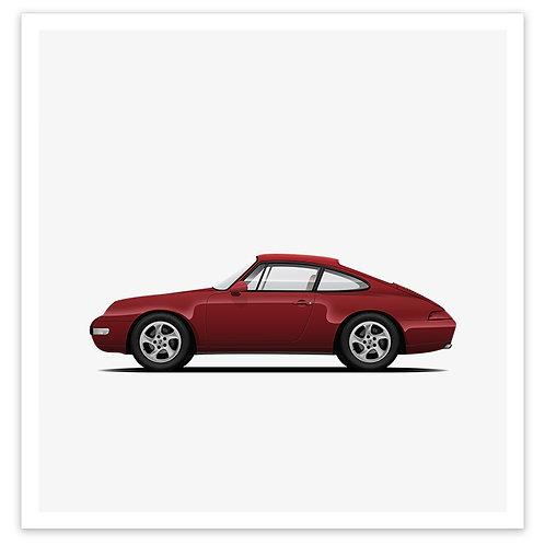 993 - Burgundy