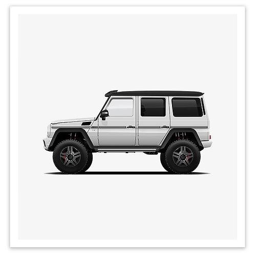 4x4 Squared - White