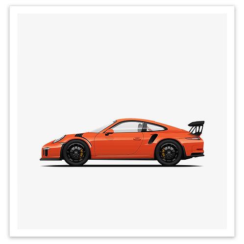 GT3RS - Orange