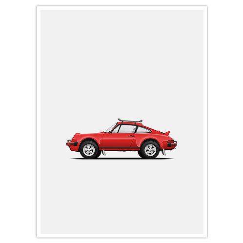 930 Safari - Red