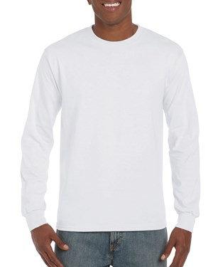 Gildan Ultra Cotton Long Sleeve (Neutral Colors)