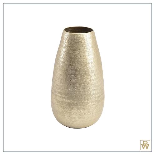 'Phoenix' Champagne Textured Vase