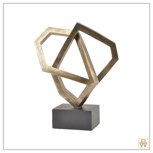 'Apollo' Cubist Abstract Sculpture
