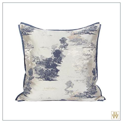 Sotti & Co. 'Ink Steel Blue' Cushion 50x50cm