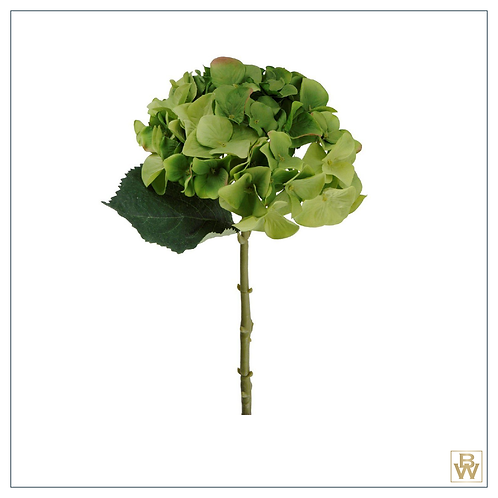 'Antheia' Faux Hydrangea With Leaves