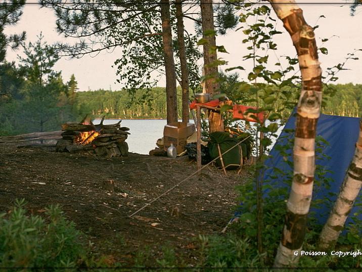 Camping en Vérendrie
