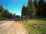 Entrée du Parc Yellowstone - Usa