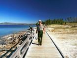 Garde du parc - Yellowstone - Usa