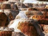 Concrétions minérales - Yellowstone