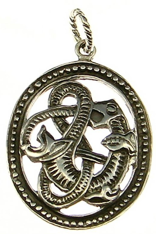 Anhänger mit keltischen Tiermotiv