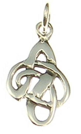 Silberanhänger keltischer Knoten klein