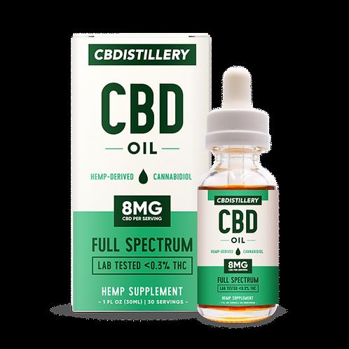 CBD Distillery 250mg CBD oil