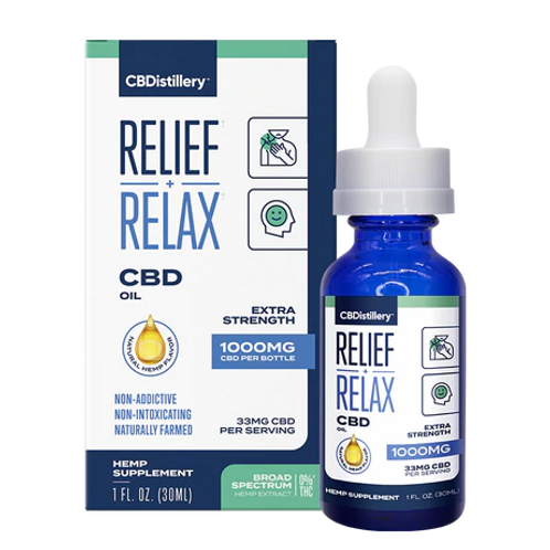 CBDistillery 1000mg Broad Spectrum CBD oil