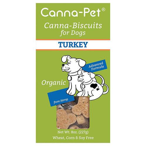 Canna-Pet CBD Dog Biscuits Turkey