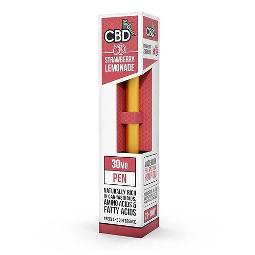 CBD fx Strawberry Lemonade 30mg Vape Pen
