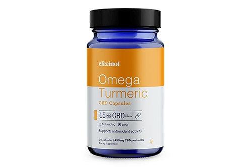 Elixinol Omega Turmeric Capsules 15mg/30 count