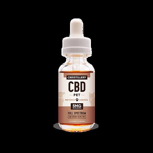 CBD Distillery Pet Oil 150 mg