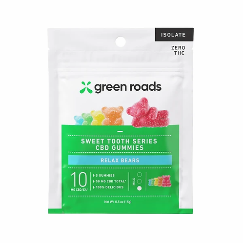 Green Roads Relax Bears 50MG