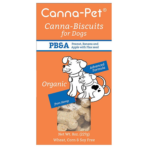 Canna Biscuits for Dogs PB&A