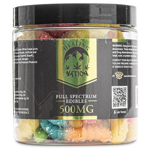 Healing Nation Full Spectrum Gummies | 500mg