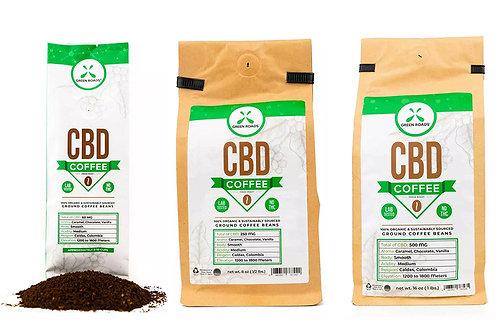 Green Roads CBD Coffee Various Sizes